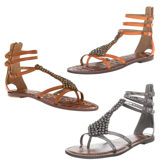 Best Embellished Sandals - Sam Edelman Ginger Thong Sandal