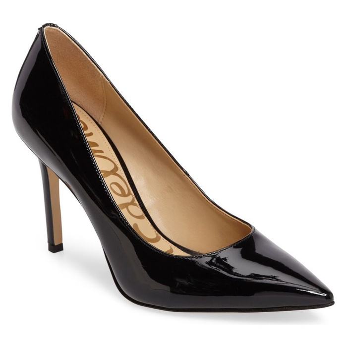 Best Comfortable Work Heels - Sam Edelman Hazel Pointy Toe Pump