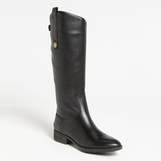 Best Black Riding Boots - Sam Edelman Penny Boot