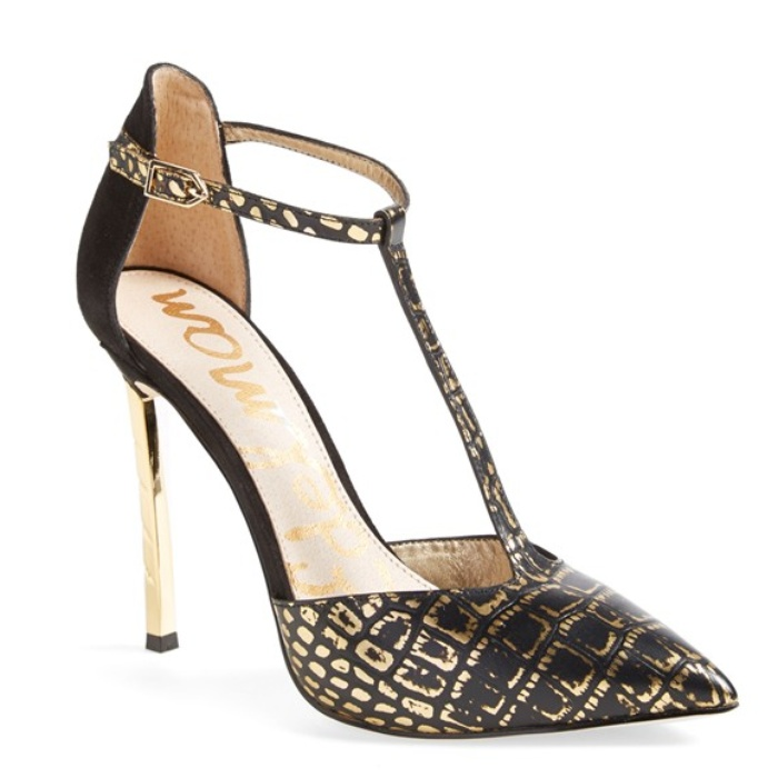 Best Party Pumps Under $200 - Sam Edelman 'Smithfield' T-Strap Pump
