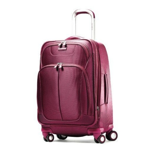 Best Carry On Suitcases - Samsonite Luggage Hyperspace Spinner 21.5 Expandable Suitcase