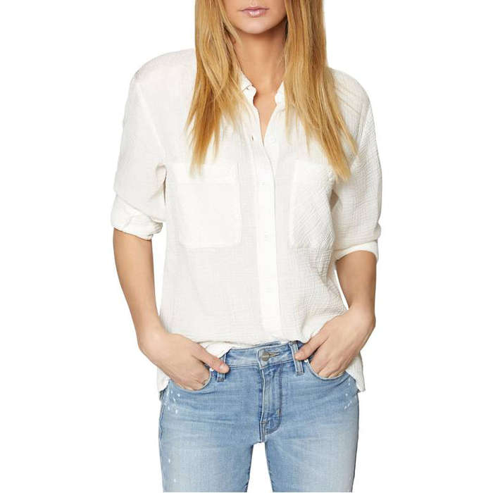 10 Best White Button Down Shirts For Petites Rank Style