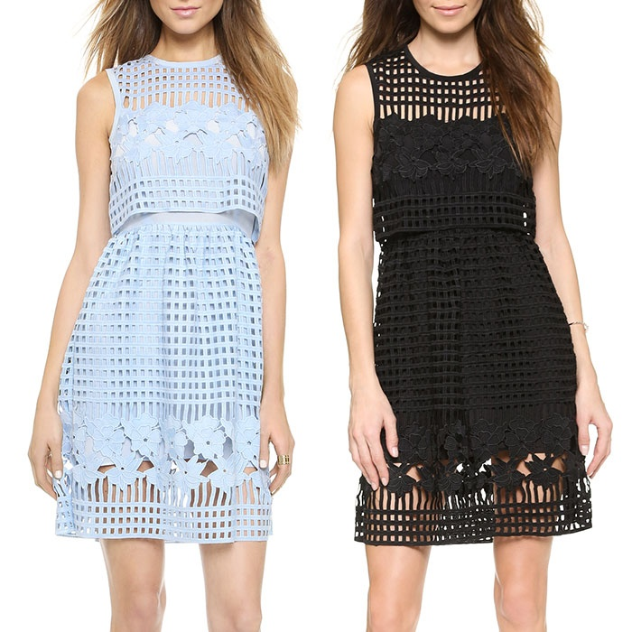 Best Perforated & Laser Cut Bests - Saylor Lola Dress