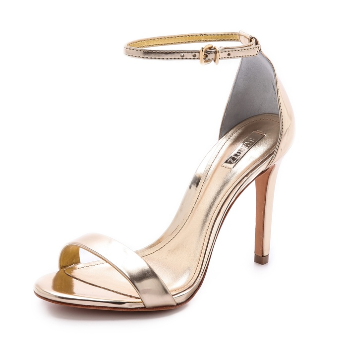 Best The Ten Best Fall Party Pumps and Clutches - Schutz Cady Lee Sandals