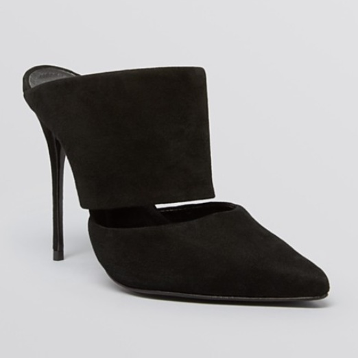 Best Mules for Fall - Schutz Pointed Toe Slide Mules