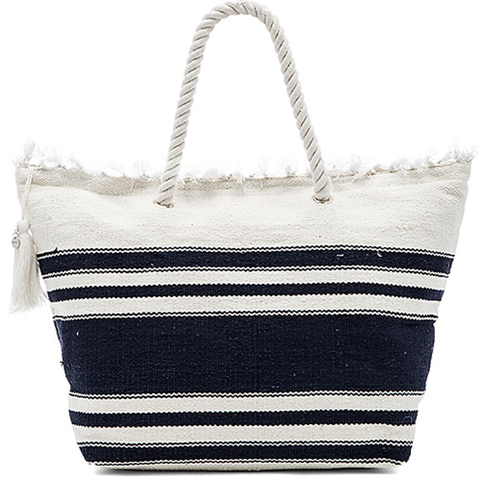 Best Beach Bags - Seafolly Carried Away Riviera Tote