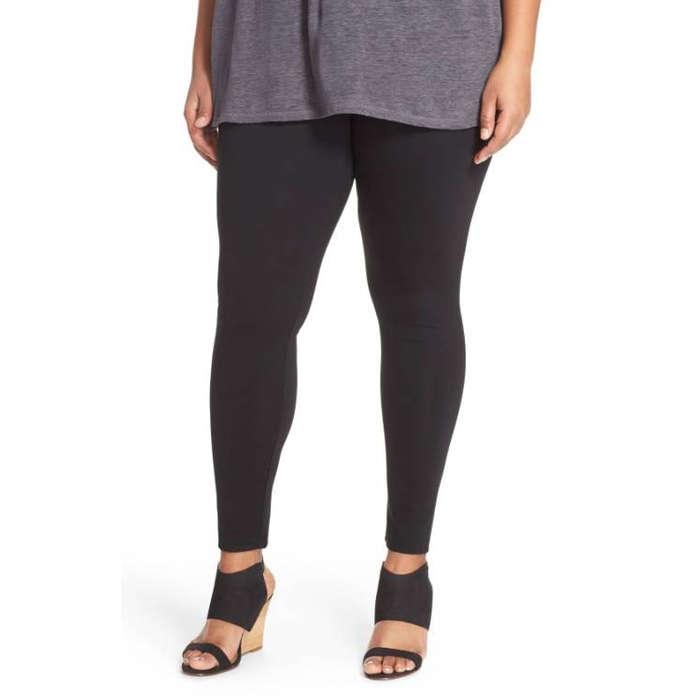 Best Plus Size and Curve Leggings - Sejour Ponte Leggings