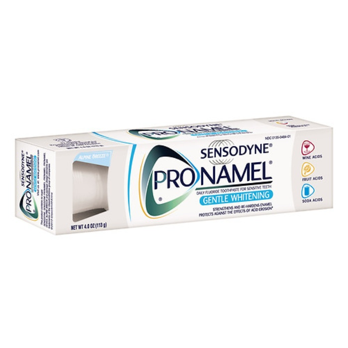 Best Teeth Cleaning & Whitening Products - Sensodyne ProNamel Gentle Whitening Toothpaste for Sensitive Teeth