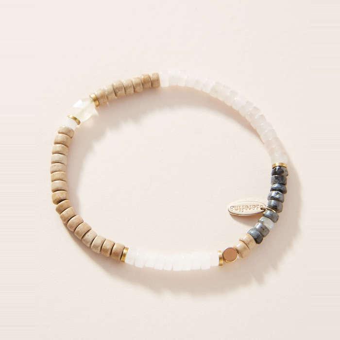 Stretch Bead Bracelet \u2013 Large Bead Bracelet SPARKLING Unforgettable Beaded Bracelet Our Top Selling Bracelet for Summer 2019