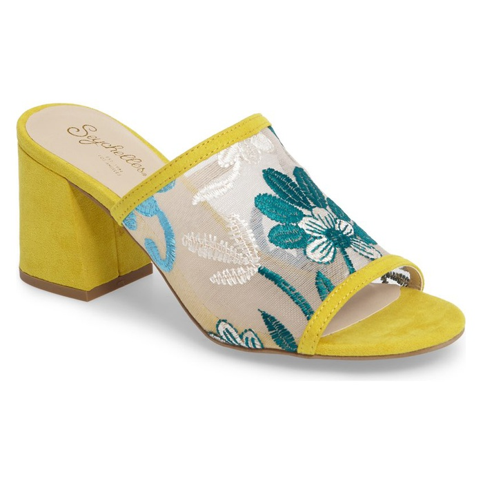 Best Embroidered Shoes - Seychelles Nursery Block Heel Sandal