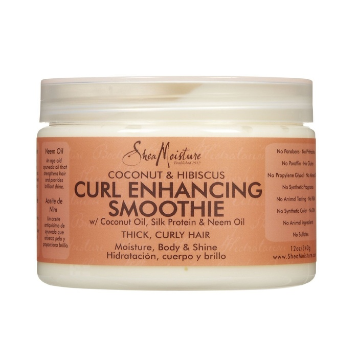 Best Drugstore Hair Products - Shea Moisture Coconut Hibiscus Curl Enhancing Smoothie