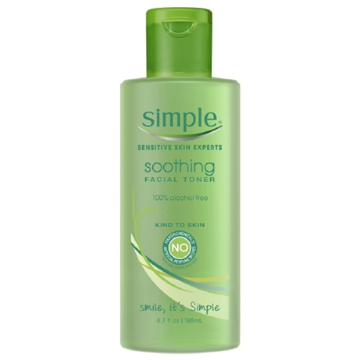 Best Toners For Combination Skin - Simple Soothing Facial Toner