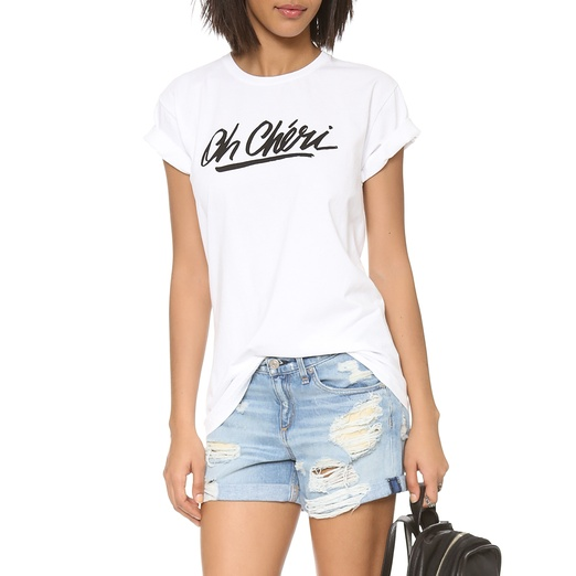Best Summer Graphic Tees - Sincerely Jules Oh Cheri Tee