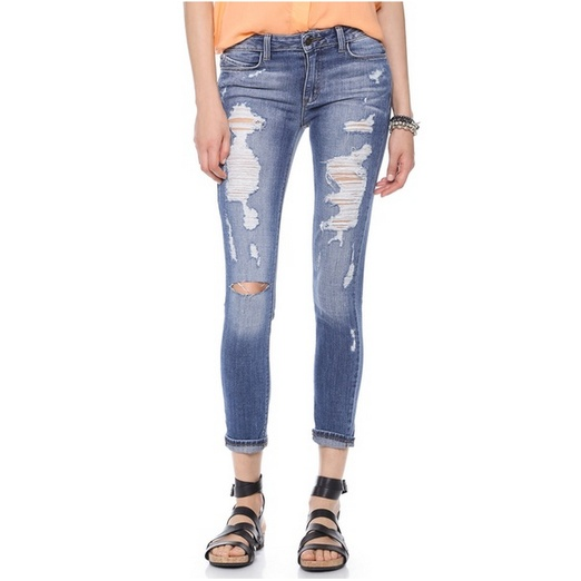Best Distressed Jeans For Spring - Siwy Ladonna Distressed Skinny Jeans