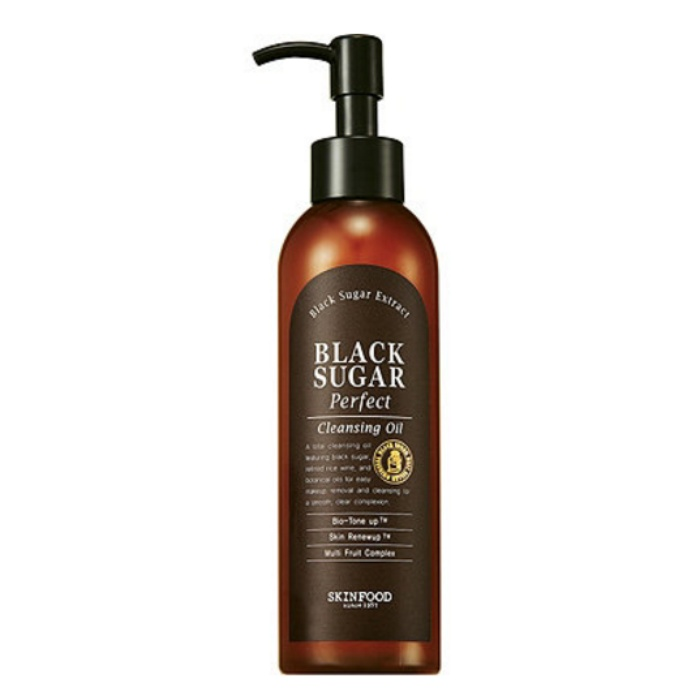 Best Korean Beauty Products - Skinfood Black Sugar Perfect Cleansing Oil