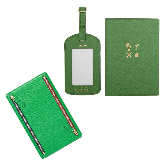 Best For the Frequent Flyer - Smythson Currency Case and Travel Set