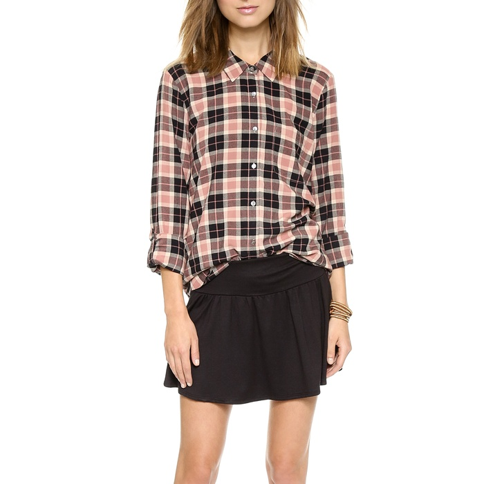 Best Plaid Button Downs - Soft Joie Anabella Plaid Button Down