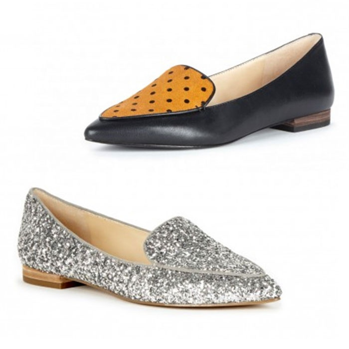 Best Flats Under $100 - Sole Society Cammila Pointed Toe Smoking Slipper