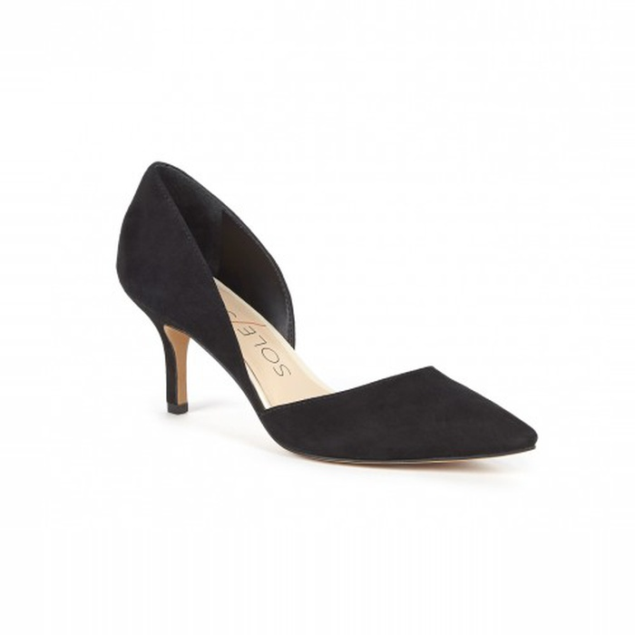 Best Comfortable Work Heels - Sole Society Jenn Pointy Toe Pump