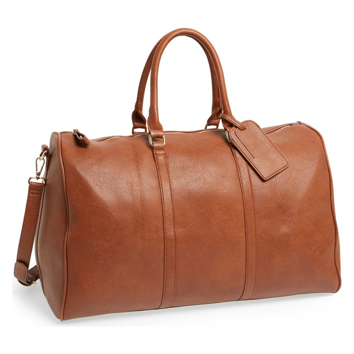 Best Weekender Bags Under $100 - Sole Society Lacie Faux Leather Duffel Bag