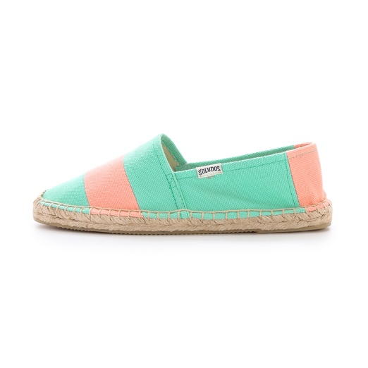 Best Pastel Shoes - Soludos Barca Striped Espadrilles