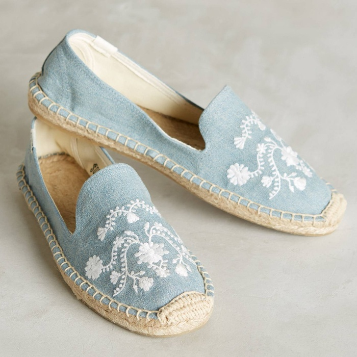 Best Summer's Best Chambray Fashion - Soludos Picnic Espadrilles