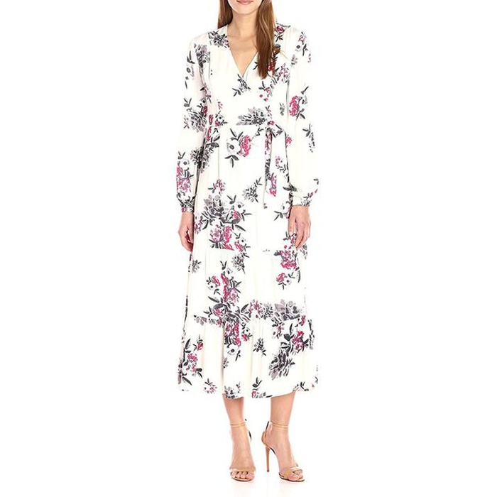Best Amazon Dresses Under $150 - Somedays Lovin Women's Mary May Floral Print Midi Wrap Dress