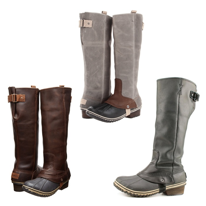 Best Snow Boots to Gift - Sorel Slimpack Riding Boots