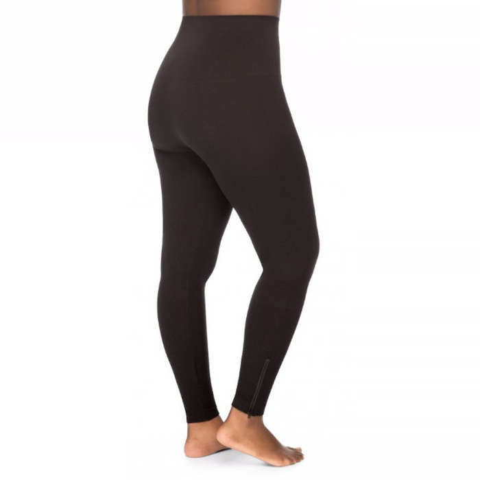 Best Plus Size and Curve Leggings - SPANX Seamless Side-Zip Leggings (Plus)