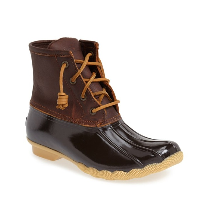 Best Rain Boots - Sperry Saltwater Duck Boot