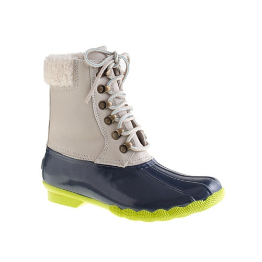 SPERRY TOP-SIDER® FOR J.CREW LEATHER SHEARWATER BOOTS | Rank & Style