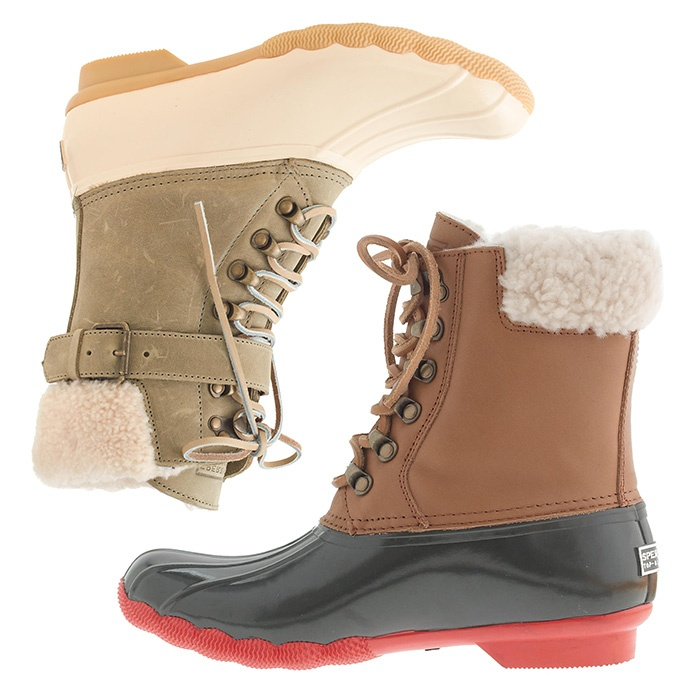 Best For the Preppy Girl - Sperry Top-Sider® for J.Crew Shearwater Buckle Boots