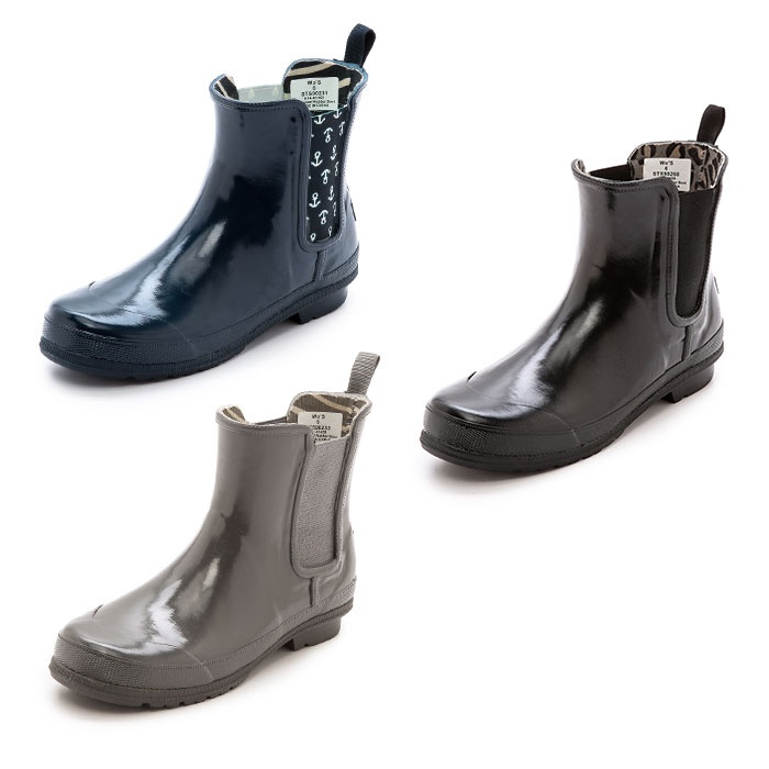 Best Rain Booties - Sperry Top-Sider Starling Chelsea Rain Booties