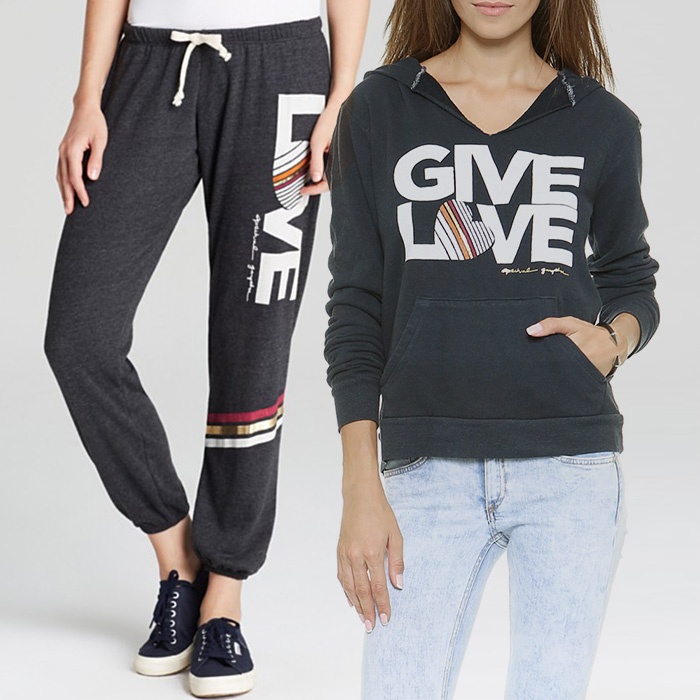 Best Gym-to-Street Fashion - Spiritual Gangster Love Sweatpants and Pullover Hoodie