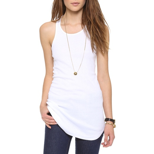 Best Solid Colored Tanks - Splendid 2x1 Racer Back Tank Top