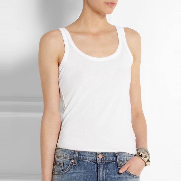 Best Everyday Camisoles - Splendid Cotton and Modal-Blend Jersey Tank