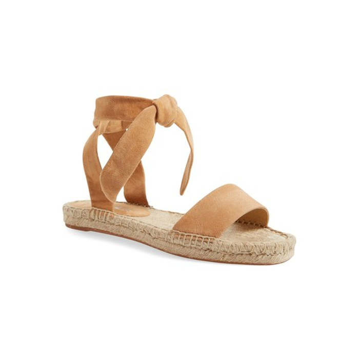 Best Spring Vacation Essentials - Splendid Jody Ankle Tie Espadrille