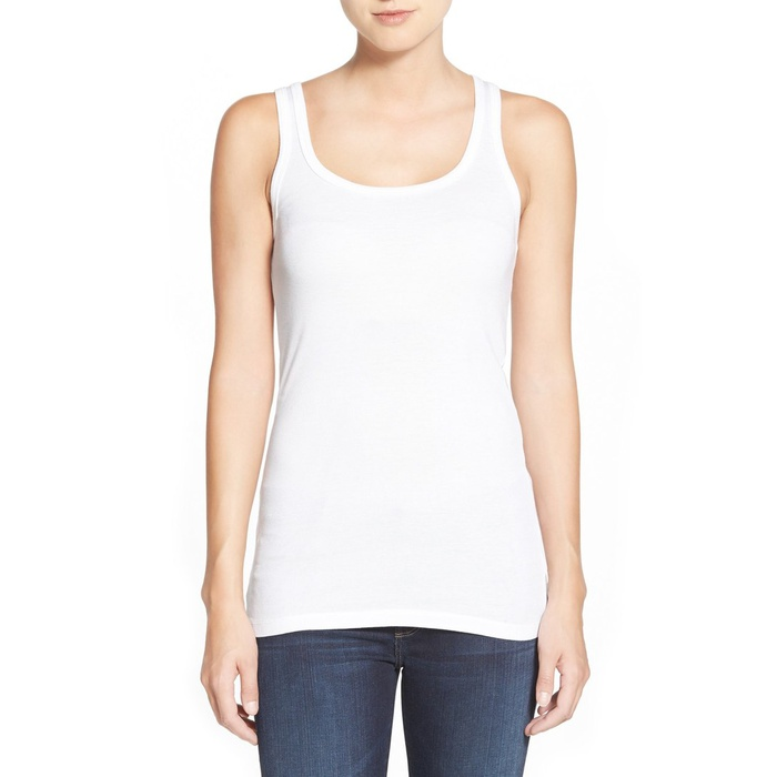 Best White Tank Tops - Splendid Ribbed Tank