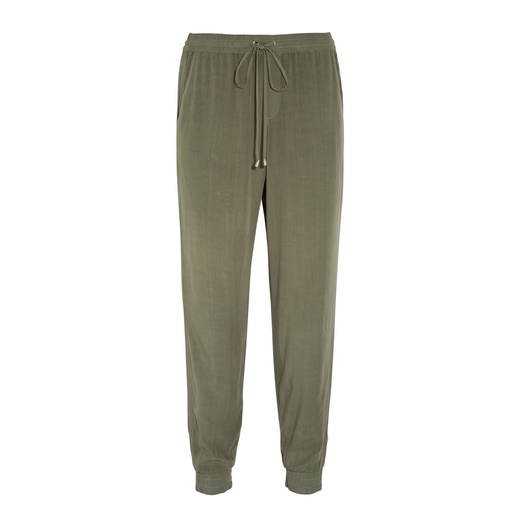 Best Track Pants - Splendid Washed-Poplin Track Pants