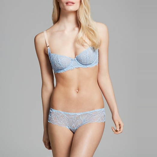 Best Pastel Colored Bras - Stella McCartney Unlined Underwire Bra