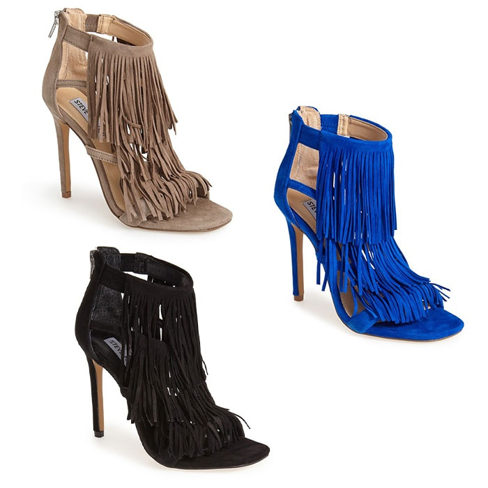 Best Summer Party Heels Under $200 - Steve Madden Fringly Sandal