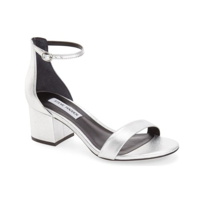 Best Metallic Shoes Under $150 - Steve Madden Irenee Ankle Strap Sandal