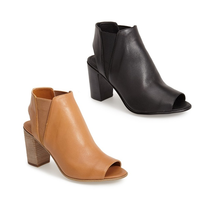 Best Peep Toe Booties - Steve Madden 'Nobel' Open Toe Bootie