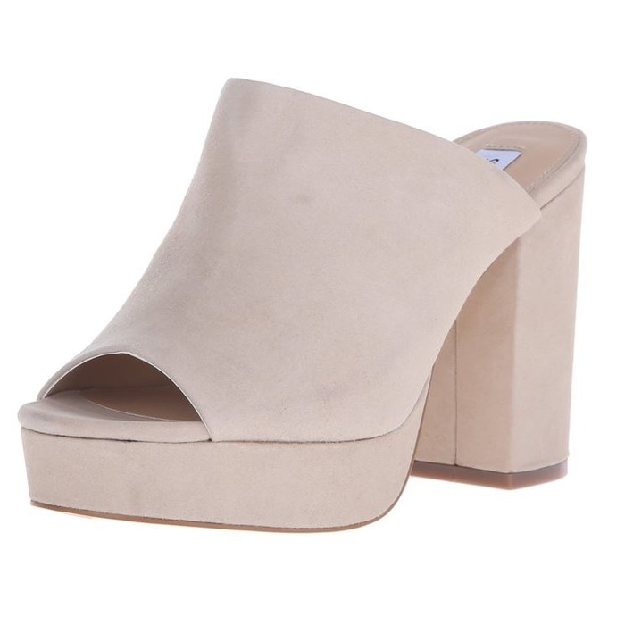 Best Nude Shoes For Summer - Steve Madden Stonnes Mule