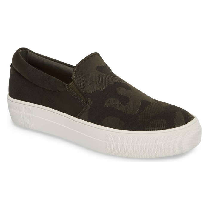Best Fashion Sneakers - Steven Madden Gills Platform Slip-On Sneaker
