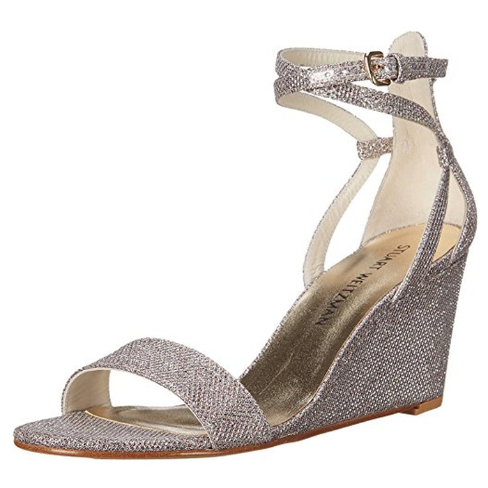 Best Bridal Wedges - Stuart Weitzman Backdraft Wedge Sandals
