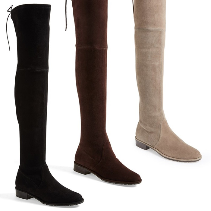 Best Boots made for walking and gifting - Stuart Weitzman Lowland Over the Knee Boot