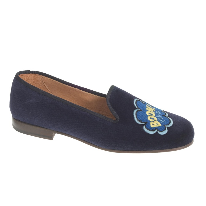 Best Novelty Loafers and Flats - Stubbs & Wootton Velvet Slippers