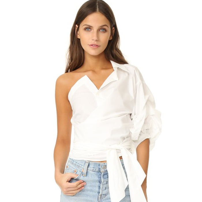 Best Statement Sleeve Tops - Stylekeepers One Shoulder Top