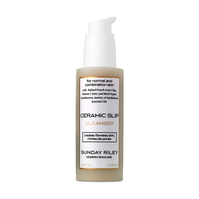 Best Natural Beauty Products - Sunday Riley Ceramic Slip Cleanser